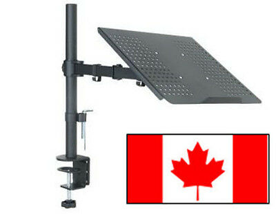 AnthroDesk Laptop Mount with Full Motion Adjustable Extension Arm with Tilt