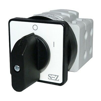 Cam switches 10A 0-1 Rotary turn-switch Reversing 3P S10 JD 1103 A6