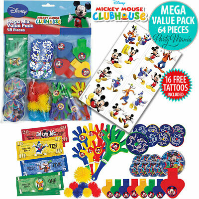 Mickey Mouse Boys Birthday Party Supplies Decorations Game For Up To 8 Guests