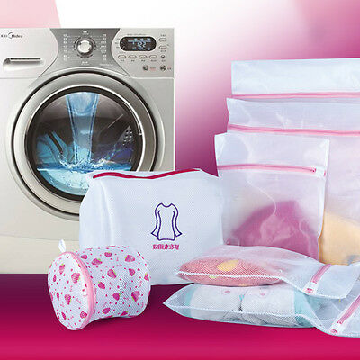 Underwear Lingerie Clothes Bra Socks Washing Machine Net Laundry Mesh Bag 3Sizes