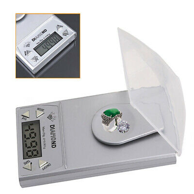 50g * 0.001g LCD Digital Jewelry Scale Gram Pocket Weight Balance Portable