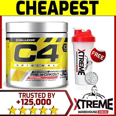 Cellucor C4 Id Series 30 Servings // Pre Workout Energy Focus Pumps Caffeine