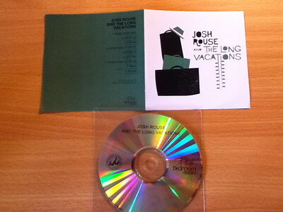 JOSH ROUSE & The Long Vacations~RARE PROMO ONLY 9 Track CD 2011~Folk Rock~NEW!