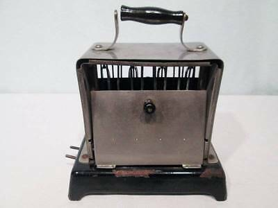 Antique Vintage Toaster Simplex T211 Electric Early 1900s AMPS 4 Cord Works