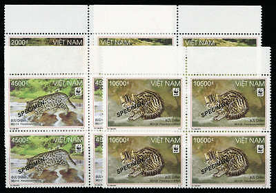 Vietnam Nord u. Rep. WWF Nr. 3553-56 SP 4 OR ** (1781000119 P)