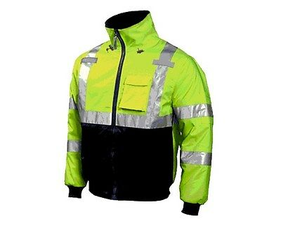 Tingley Premium ANSI Compliant High Visibility Insulated Jacket Sizes S-3XL