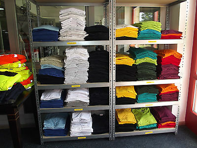 JOBLOT 350 new cotton T-shirts mixed sizes and colors - pls look and read