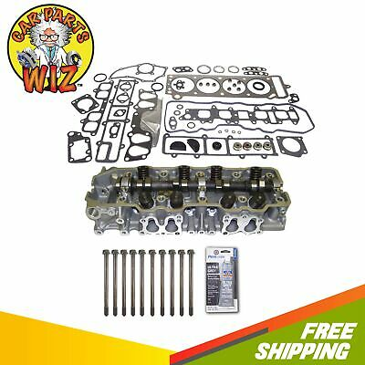 Complete Cylinder Head, Head Gasket Set & Bolts Fits 85-95 Toyota 2.4L SOHC 22R