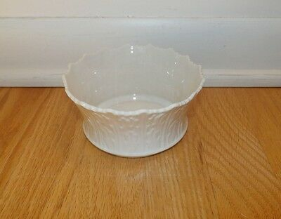 """Vintage Lenox Small Woodland Bowl Cream Color 2 1/2"""" Tall 5"""" Diameter Made in US"""