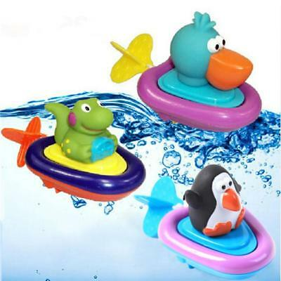 New Sassy Baby Bath Play Water Imagination Inspire Lovely Animal Boats Toy ONE