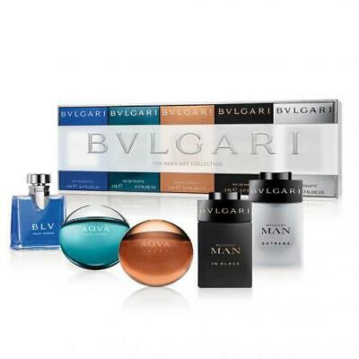 Minature Bvlgari Travel Gift Set - 5 pcs