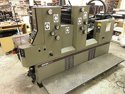 AB Dick Century 3500 Series 2 Color Offset Press
