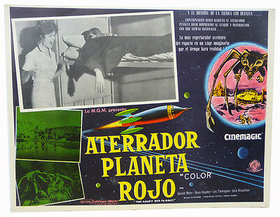 Original ANGRY RED PLANET Mexican Lobby Card (1959) Sci Fi