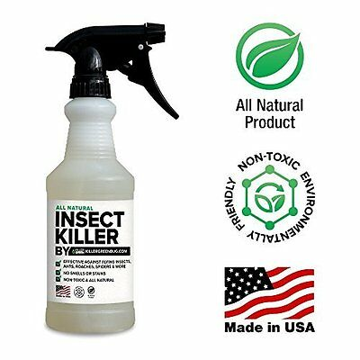 All Natural Non toxic Insect Killer Spray by Killer Green - 16 oz.