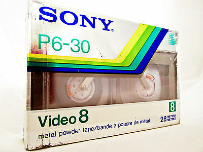 SONY 8mm VIDEO CASSETTE Blank High Quality Still Sealed tape cinta virgen MP