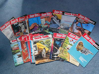 1967-1975 FORD SHOP TIPS & AUTOLITE TECH TALK HUGE LOT of 24 ISSUES ORIGINAL ID