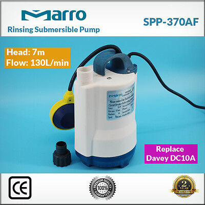 Marro Submersible/Sump Pump Seawater Pump SPP370AF 7m Head 130L/min