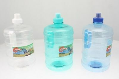 2 x Water Bottles 2 Litre with handle 3 colours Camping Trip