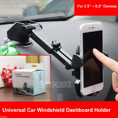 Universal Windshield Mount Car Holder Cradle For GPS iPhone 6S 6 Plus SE Samsung