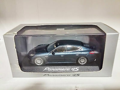 Automotive Cars Herpa Wap0207230g Panamera Diesel 4s 1:43 Dark Blue New Original Packaging For Fast Shipping