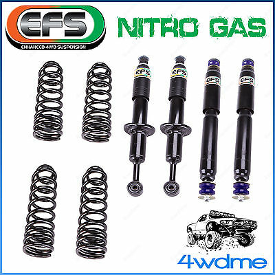 """Toyota Prado 150 Series EFS Front and Rear Shock + Coil Springs 2"""" 50mm Lift Kit"""