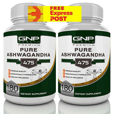Ashwagandha - 360 Capsules - Anxiety Tablets & Stress Relief