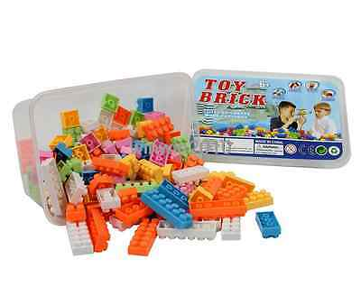120PCS Kid Puzzle Children Educational Toy Building Blocks Bricks In Box Gift