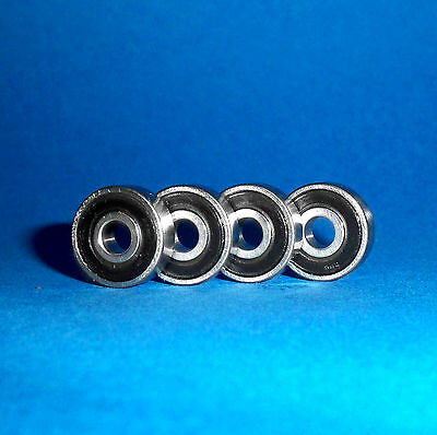 4 Kugellager 698 2RS / 8 x 19 x 6 mm
