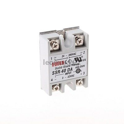 24V-380V SSR-40DA 40A Solid State Relay for PID Temperature Controller Durable