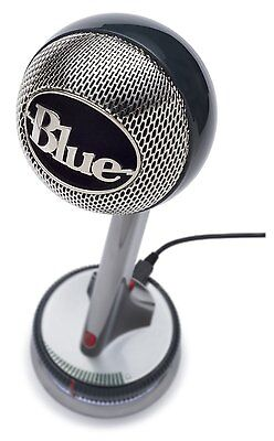 Brand New Blue Microphones Nessie Adaptive Usb Cardioid Microphone