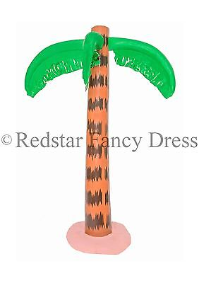 3Ft Inflatable Palm Tree Hawaiian Summer Party Luau Tropical Beach Pool