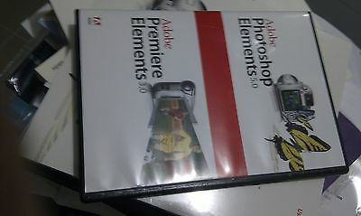 Adobe Photoshop Elements , Adobe Premiere  Software as NEW for Windows