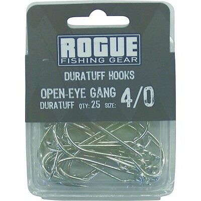 Rogue Open Eye Gang Hook 4/0 25pk Bulk Pack