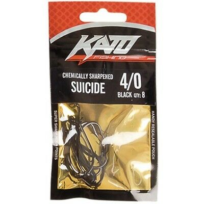 Rogue Suicide Hooks - 7/0, Red, 6 Pack