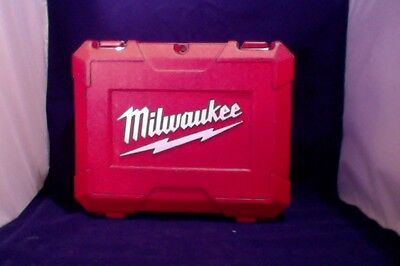 "Milwaukee Red Plastic Carrying Case  18V 1/2"" Driver Drill Kit"