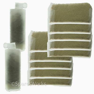 12 Filters Refill 2 Cartridges 42234 42238 42243 Fits Morphy Richards Steam Iron
