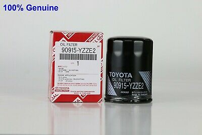 Toyota Genuine Oil Filter 90915-YZZE2 x1 Aus ref: Z432
