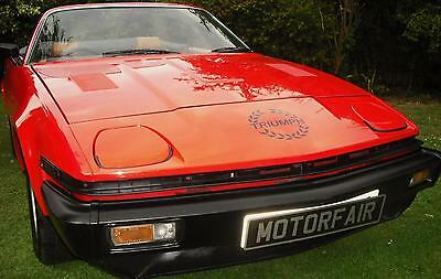 1980 Triumph Tr7 Convertible 1 Owner 5 Speed Carnelian Red,concours Winner