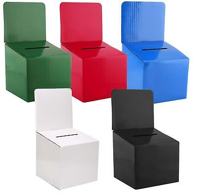 Cardboard Suggestion Box Money Donation boxes - (5 PACK)
