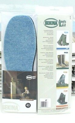 Bekina Wellington Boot Insoles 47 Size UK-11/12 Washable, Anti Slip, Ventilating