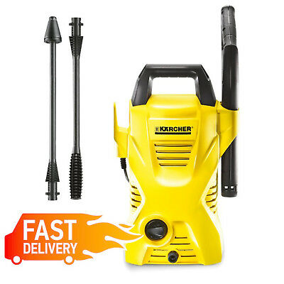 Karcher K2 Air Cooled Pressure Washer Jet Water Cleaner Compact Car Patio Wash