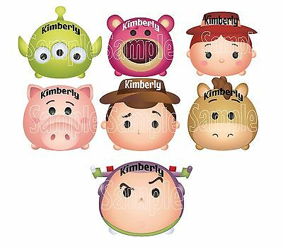 Mickey Mouse Toy Story Woody Buzz Tsum Tsum Cruise Stateroom Door Magnet B3G1F