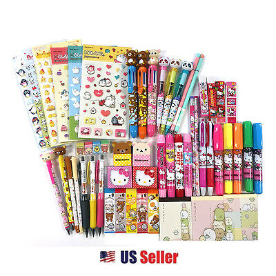 10 of Assorted School Supply Stationary Surprise Blind Gift + 2 FREE = 12 ITEMS