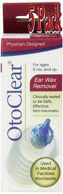 Otoclear Ear Wax Remover, 0.8oz, 5 Pack 859911004030A296