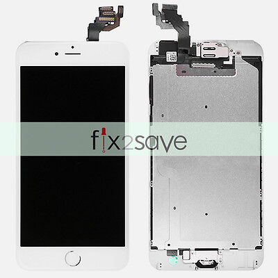 """White LCD Touch Screen Digitizer Display Assembly Replacement iPhone 6 Plus 5.5"""""""