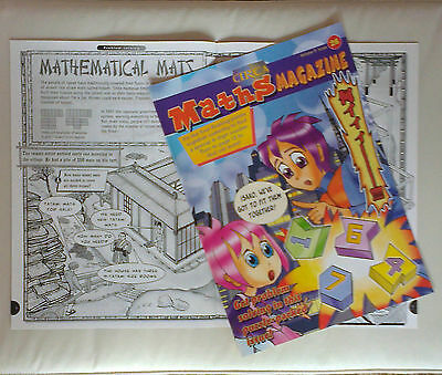 Maths Magazine  CIRCA 26 (New back issue) for 9-12 yr olds