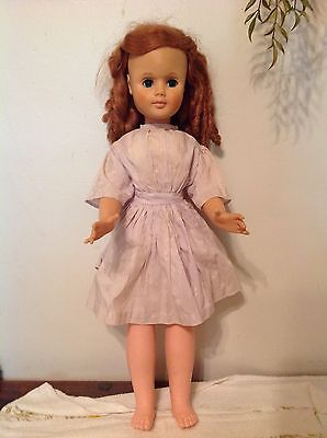 VINTAGE ADORABLE 24 INCH EEGEE DOLL Original Outfit