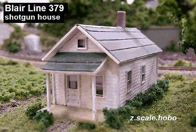 Blair Line 379 Z Scale Rural Shotgun Country House Wood KIT *NEW $0 SHIP