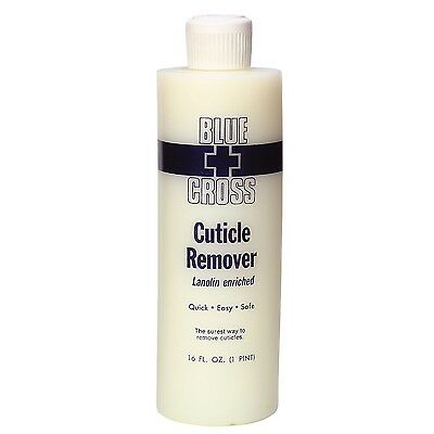 Blue Cross Cuticle Remover 16 oz Lanolin Enriched Quick Easy SAFE 16 fl oz NEW!