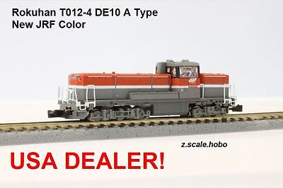 Rokuhan Z Scale T012-4 Red DE10 1500 Diesel Locomotive JRF *NEW $0 SHIP from USA